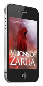 VOZ print book 3d image on phone