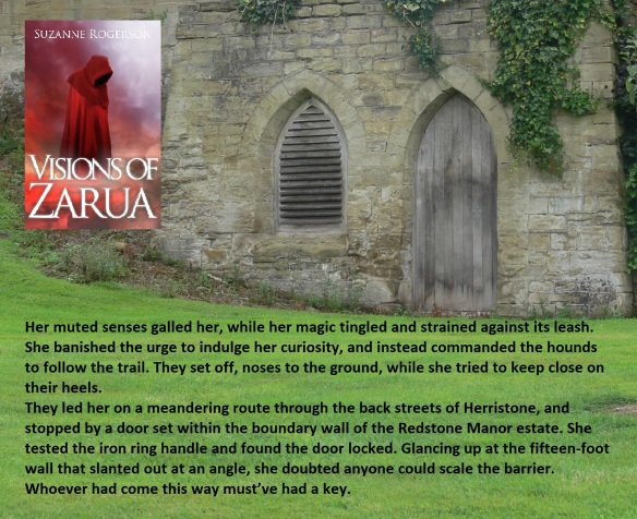 Varnia & gate scene for blog tour