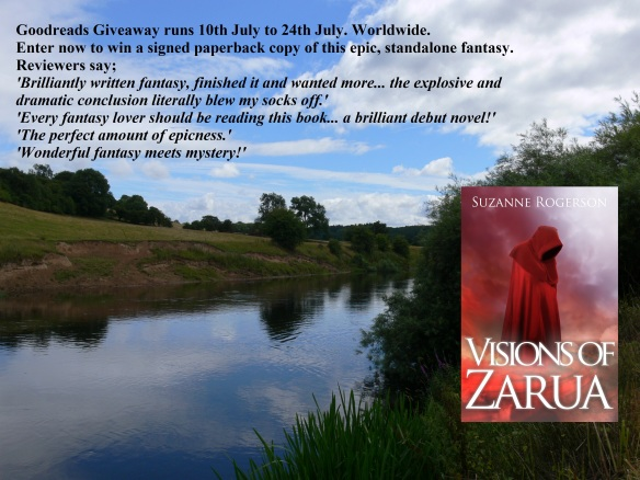 goodreads giveaway - river scene Luccia.G