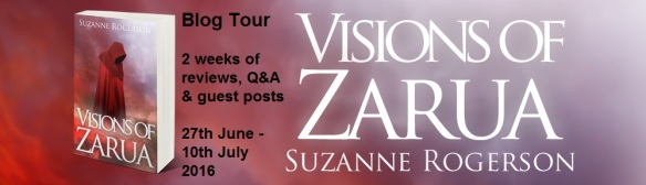 Zarua - Visions of Zarua Blog Tour Banner
