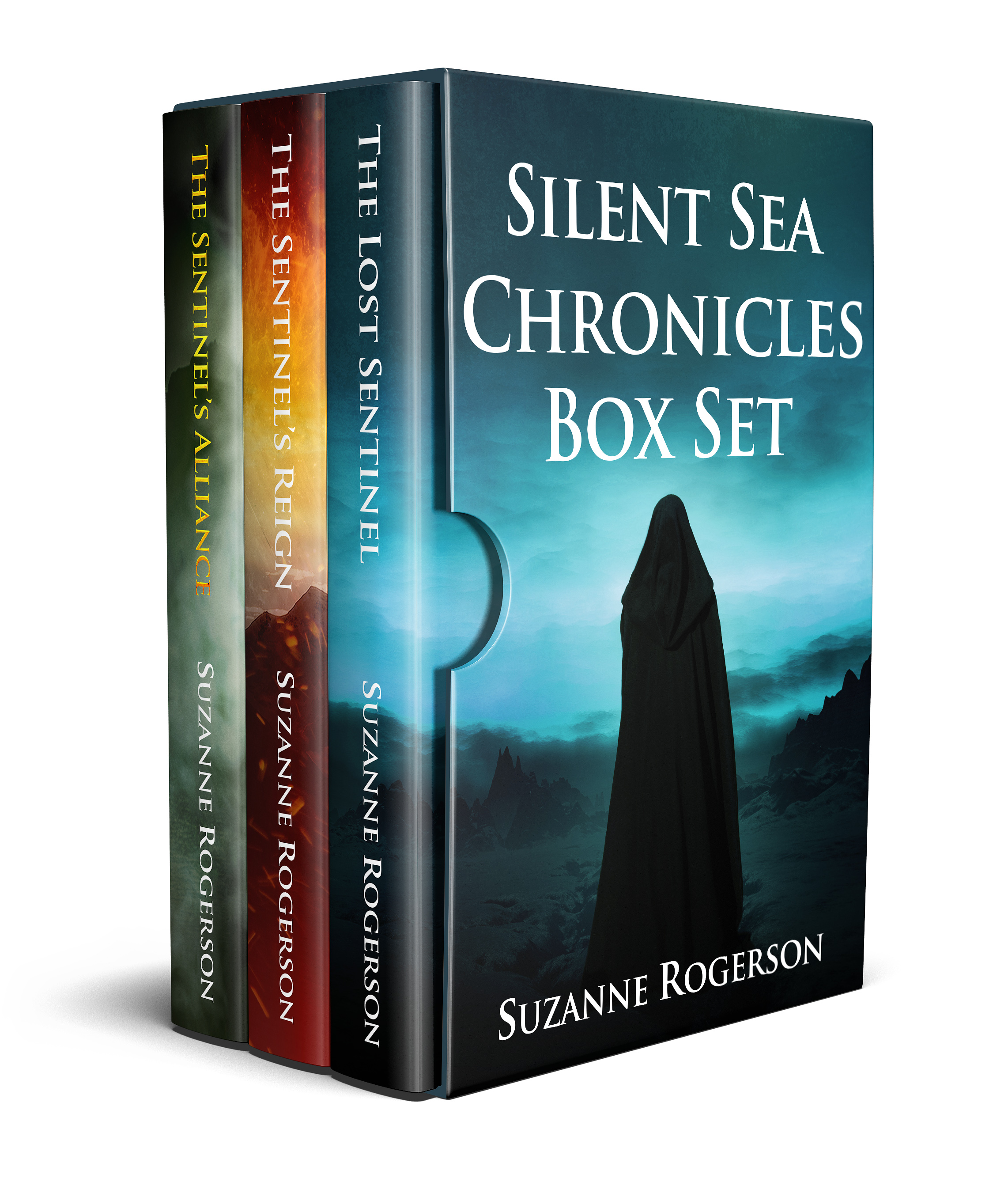 Silent Sea Chronicles Box Set complete display